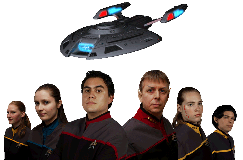 Star Trek Dark Armada cast